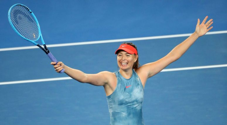 Maria-Sharapova-2019-Australian-Open-Getty